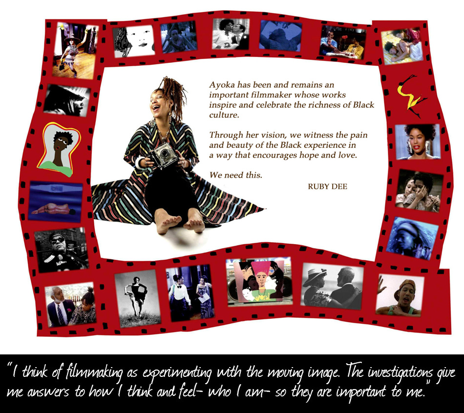 Ayoka Chenzira History Poster with Quote from Ruby Dee